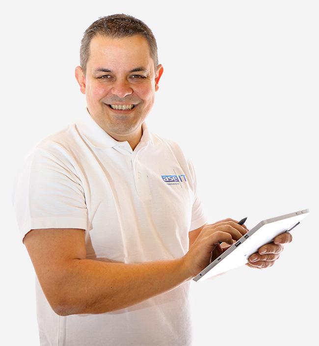 Mario Zalesky ase-IT Tablet